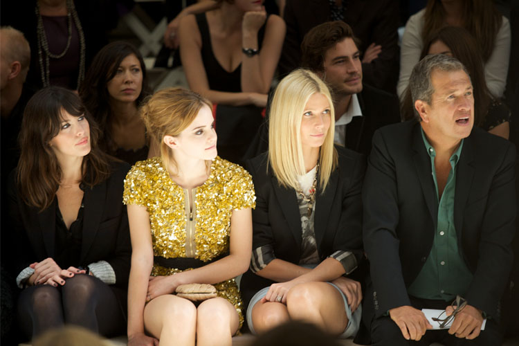 Front Row Burberry 2009